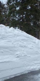 積雪 2m
