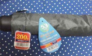 100均で買った折りたたみ傘